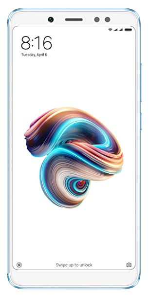 Redmi Note 5 Pro (Blue, 6GB RAM, 64GB Storage)