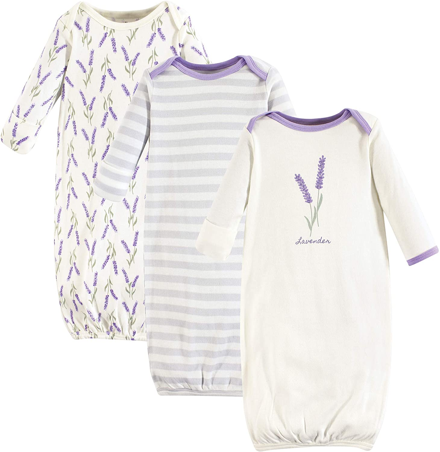 Touched by Nature Baby Organic Cotton Gowns