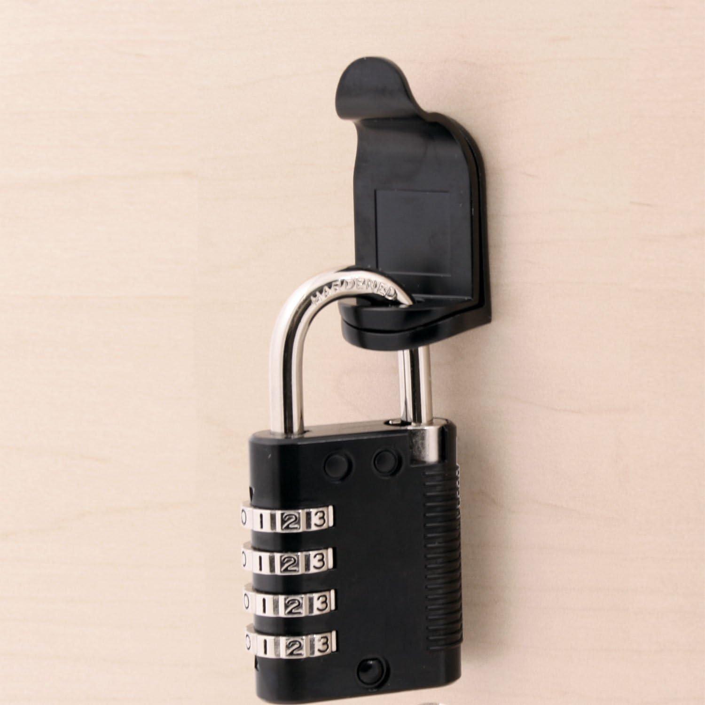 Padlockable Cam Lock 7840-US19 with Matte Black Finish
