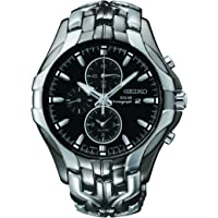 Seiko Men SSC139P-9 Year-Round Chronograph Solar Powered Multicolour Watch