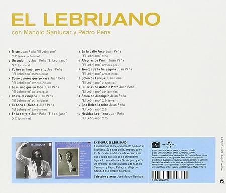 Amazon.com: Con Manolo Sanlucar y Pena Pena: Music