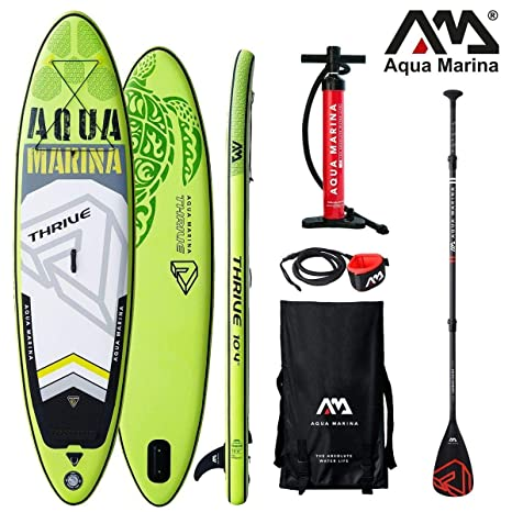 Aqua Marina Thrive - Tabla de Surf Hinchable para Paddle Surf (315 x 79 x 15 cm)