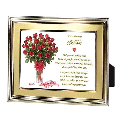 Poetry Gifts Regalo para mamá, el Mejor Poema de mamá para ...
