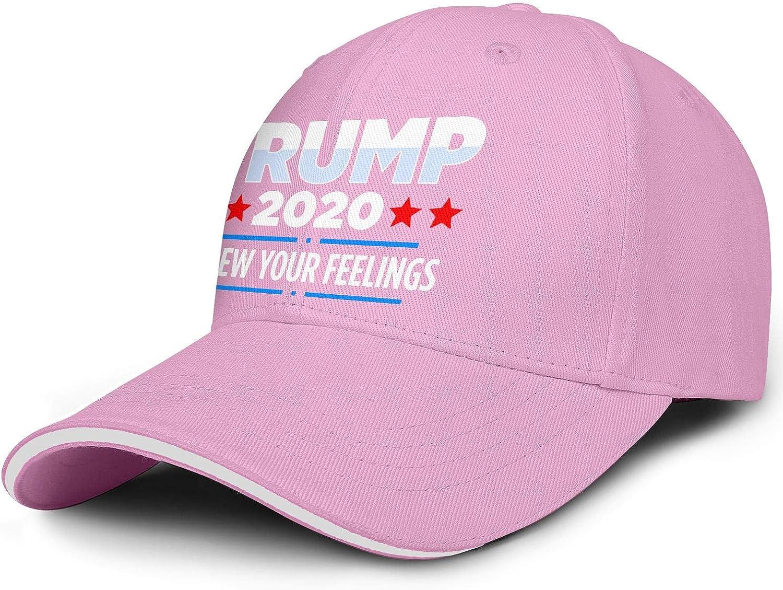 Mens Snapback Hat Baseball Caps Cool Hat JDHASA Trump-2020-star-red-and-blue