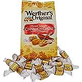 Werther's Soft Cinnamon Caramel, Chewy Fall Edition Cinnamon Creme Flavor, 7.4 Ounce Bag