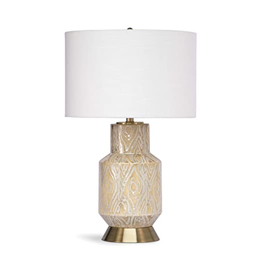 Amazon.com: Kendall Lámpara de mesa de cerámica (coral ...
