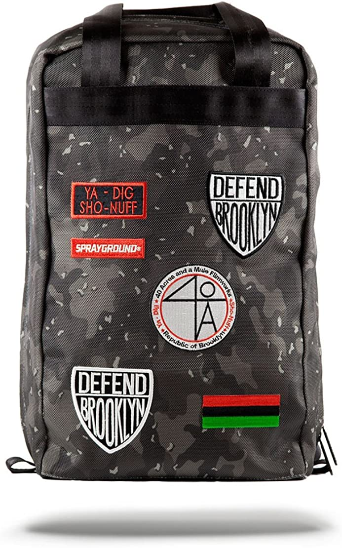 Sprayground Unisex Spike Lee Patches Backpack