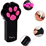 Cat Catch the Interactive LED Light Pointer Paw Style Cat Toys Red Pot Exercise Chaser Toy Pet Scratching Training Tool By Ruri's