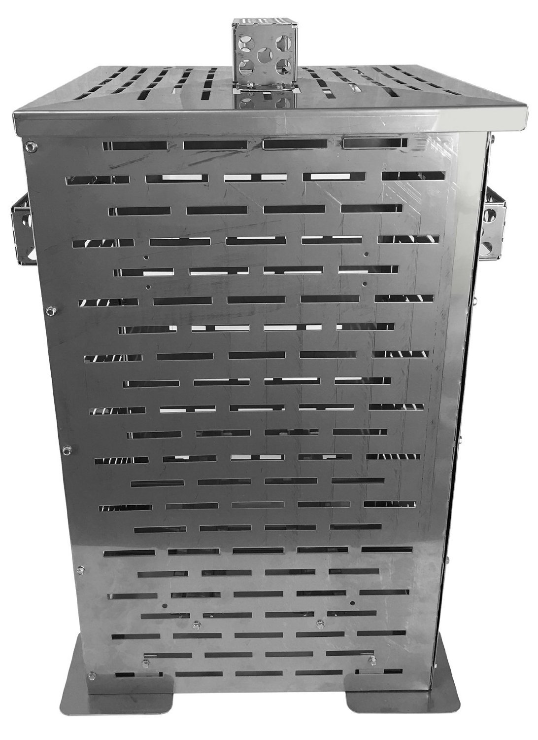 Professional Grade Products 9900000 High Grade Stainless Steel Burn Barrel Incinerator Cage, 24'' x 14'' x 14''