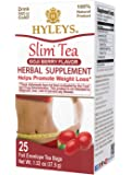 Hyleys Slim Tea Goji Berry - 25 Tea Bags (100% Natural, Sugar Free, Gluten Free and Non GMO)