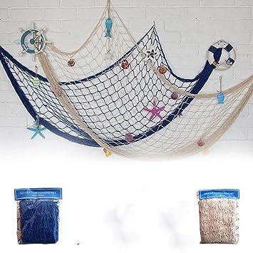 Extrem Amazon.de: Fischernetz als Dekoration für Wand, Decke oder Bar ZS84