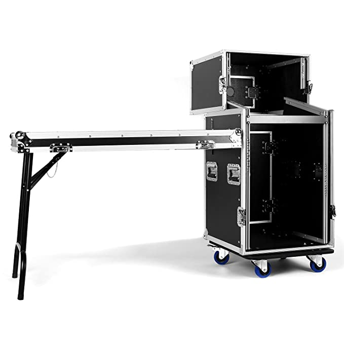 "8 opinioni per Frontstage SC-CMD 16U valigia rack 19"" 16U (163 x 121,5 x 53 cm, 35 Kg,"