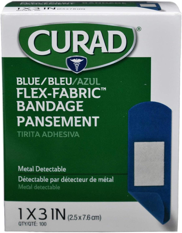 Curad Flex Fabric - 100 Count - Pack of 6