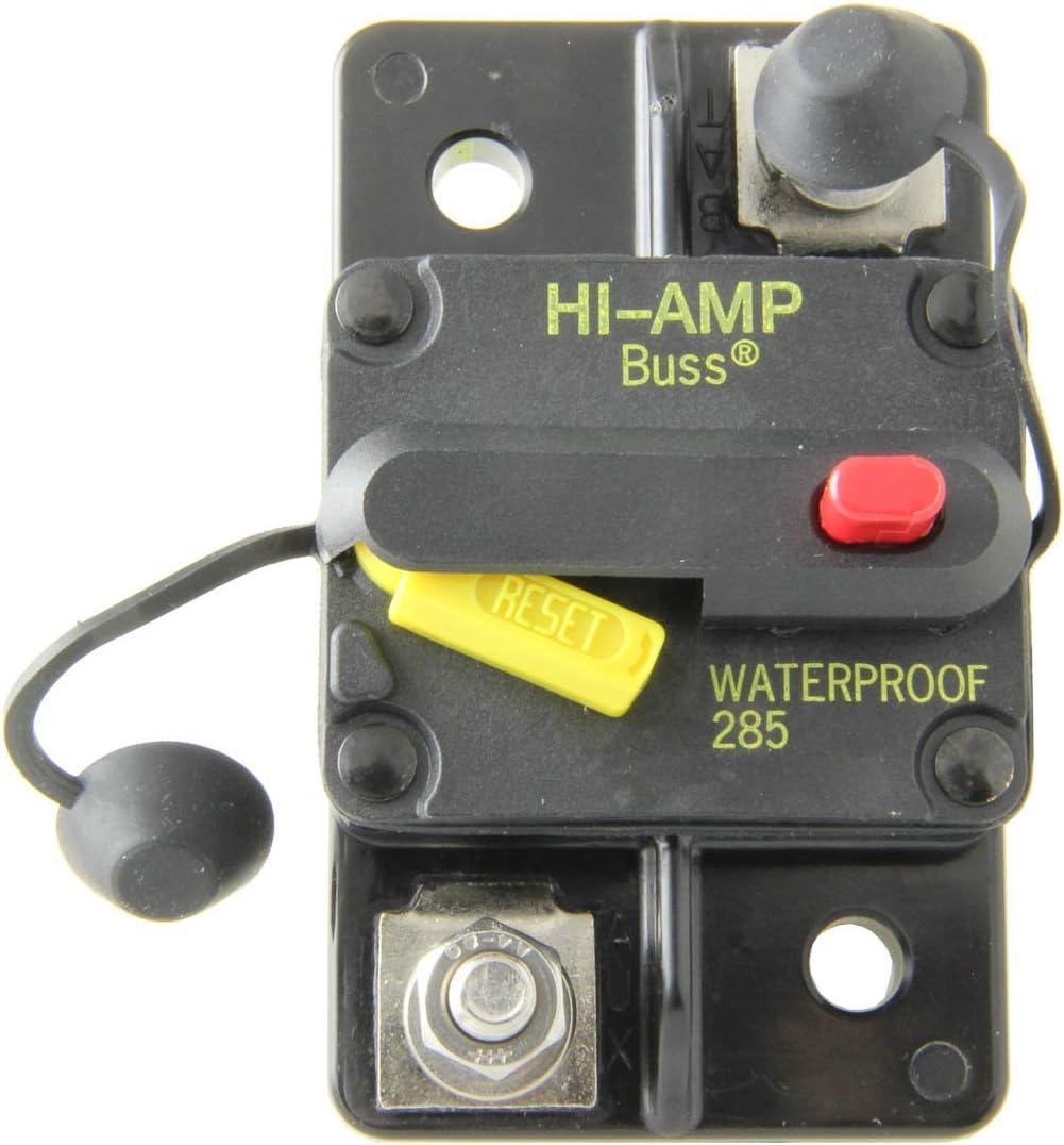 100 Amps Bussmann CB285-100 Surface-Mount Circuit Breakers 1 per pack