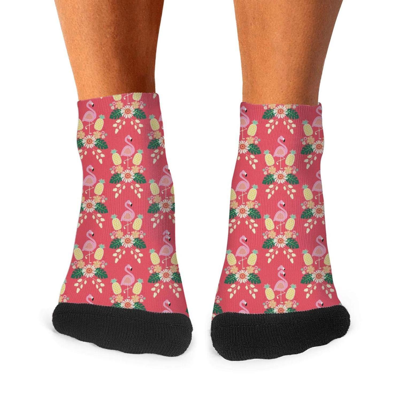 Floowyerion Mens shark heart anchor skill flowers Novelty Sports Socks Crazy Funny Crew Tube Socks