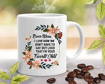 Amazon.com: Taza divertida de regalo para mamá – Regalos ...