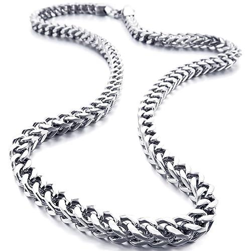 Drehmomente 12 Pcs Silber Ton Karabiner Verschluss Link Kette Halsketten Anhänger