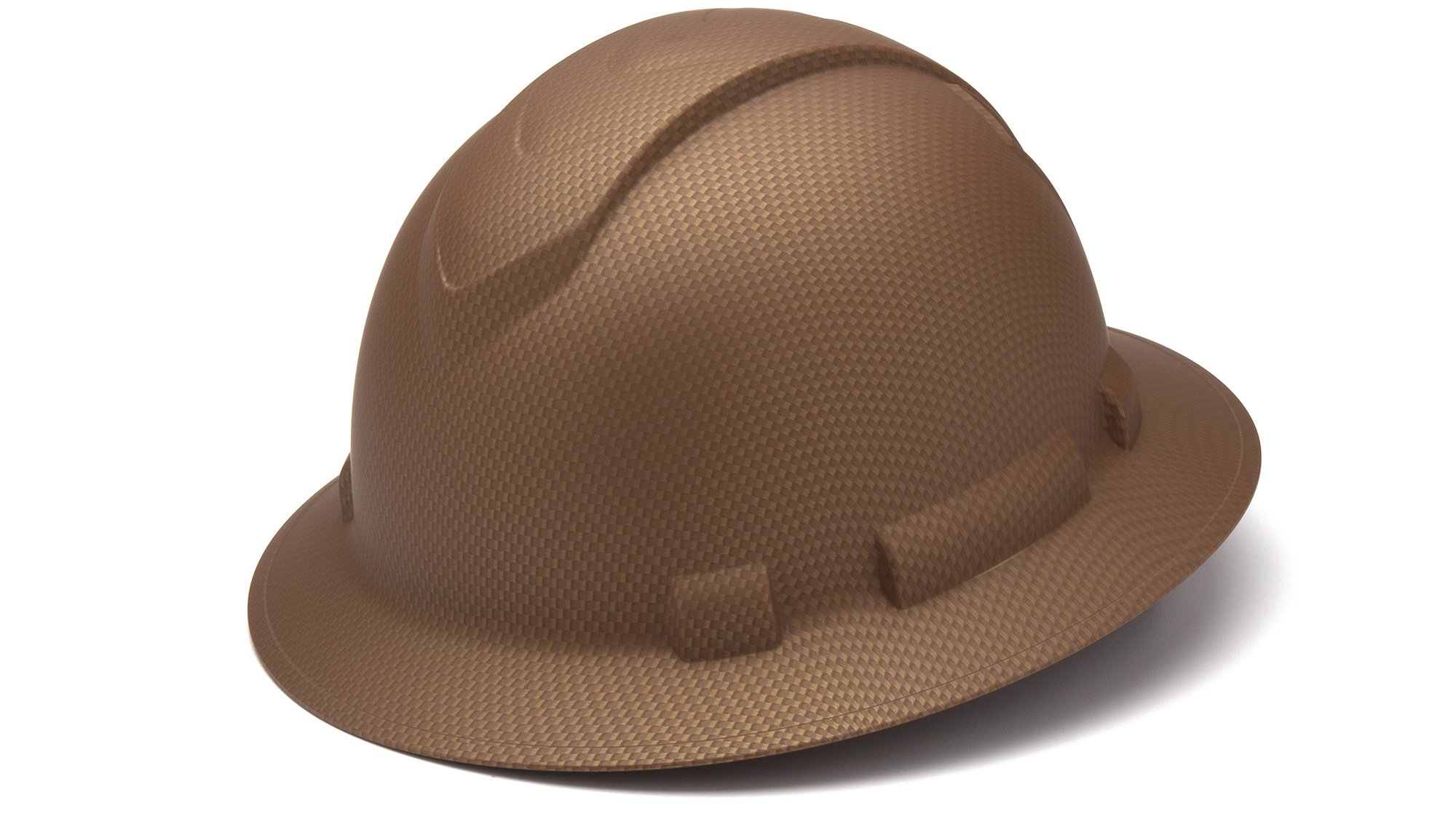 Pyramex HP54118 Ridgeline Copper Pattern Full Brim Ratchet Hard Hat (12 Each) by Pyramex (Image #1)