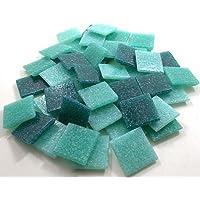 Sai Mosaic Art Vitreous Tiles, 200gm (Turquoise)