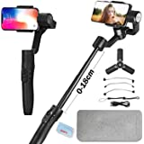 FeiyuTech Vimble 2S Stabilizer for Phone, Smartphone Gimbal Stabilizer for iPhone 11 X XR XS 8 7 Plus, Samsung S10+ A50 Note