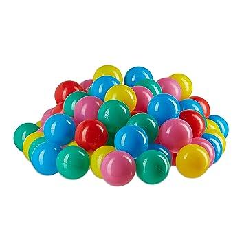 günstig kaufen LCP Kids Kinder Spielbälle für Bällebad und Spiel 100 stk Bunte