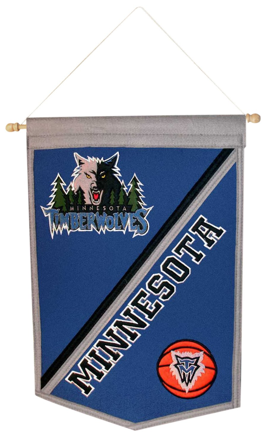 NBA Minnesota Timberwolves伝統バナー   B000H27UL8