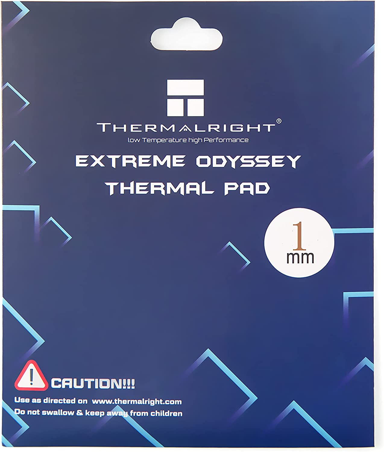 Thermalright Odyssey Thermal Pad 12.8 W/mK, 120x120x1mm, Heat Resistance, High-Temperature Resistance, Non-Conductive, Silicone Thermal Pads for Laptop Heatsink/GPU/CPU/LED/Gelid/PS4(120x120x1mm)