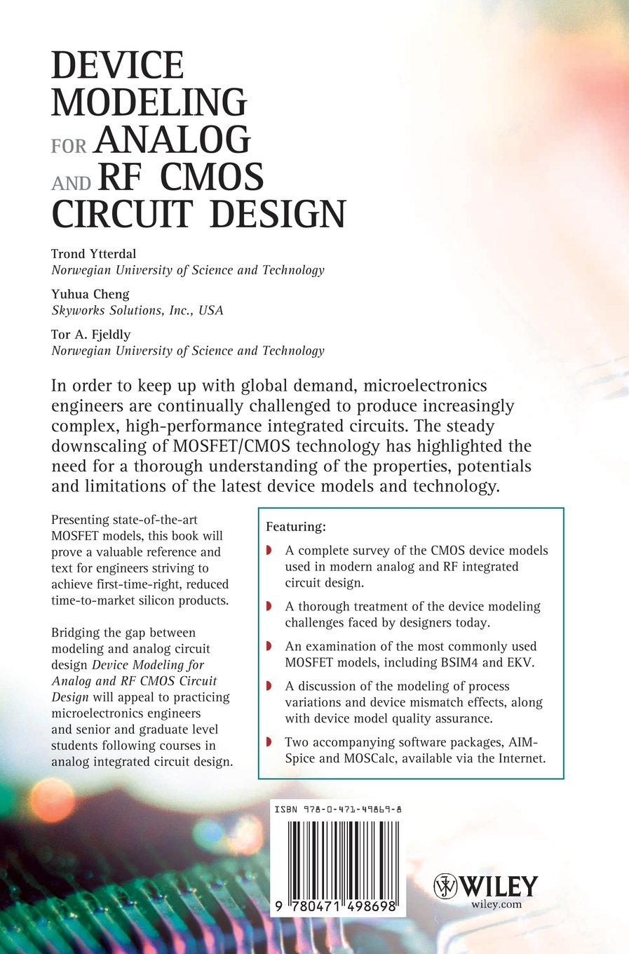 Buy Device Modeling For Analog And Rf Cmos Circuit Design Book Mosfet Online At Low Prices In India Reviews