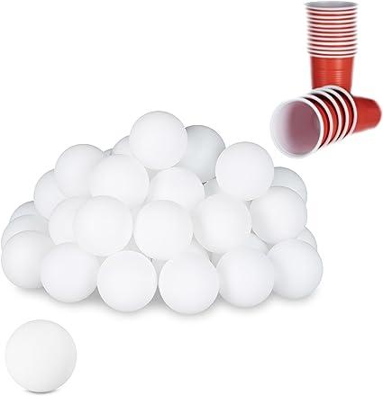 Tischtennisbälle 4 Stück Tischtennis Ping Pong Bälle Tennis weiß