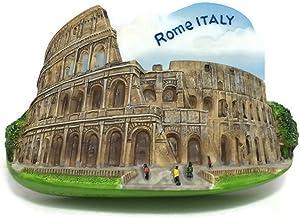 Roman Colosseum. Rome. Italy, High Quality Resin 3d Fridge Magnet