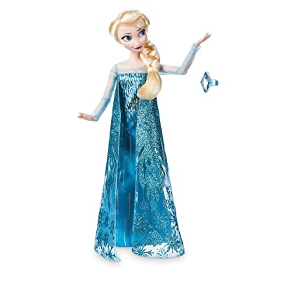 Disney Store Elsa Classic Doll with Ring - Frozen - 11 1/2'' 2020 Version: Toys & Games