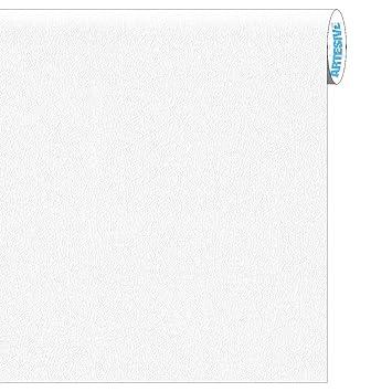 ARTESIVE TEC-023 Cuero Blanco 30 cm x 2,5 MT. - Película Adhesiva