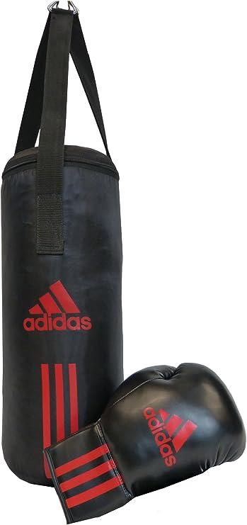 adidas Set de Boxeo para niños Junior Pack, Negro/Rojo 43 x 19 cm, ADIBACJP: Amazon.es: Deportes y aire libre