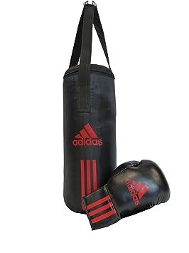 wholesale fantastic savings high quality adidas ADIBACJP Kit de boxe pour enfant Noir/rouge 43 x 19 cm