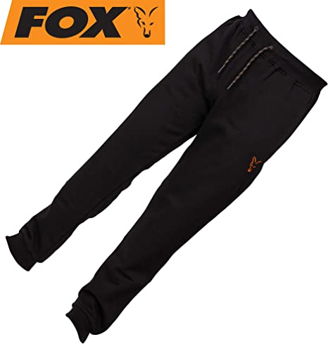 Carp Fishing Clothing Fox Collection Black Orange Lightweight Hoody