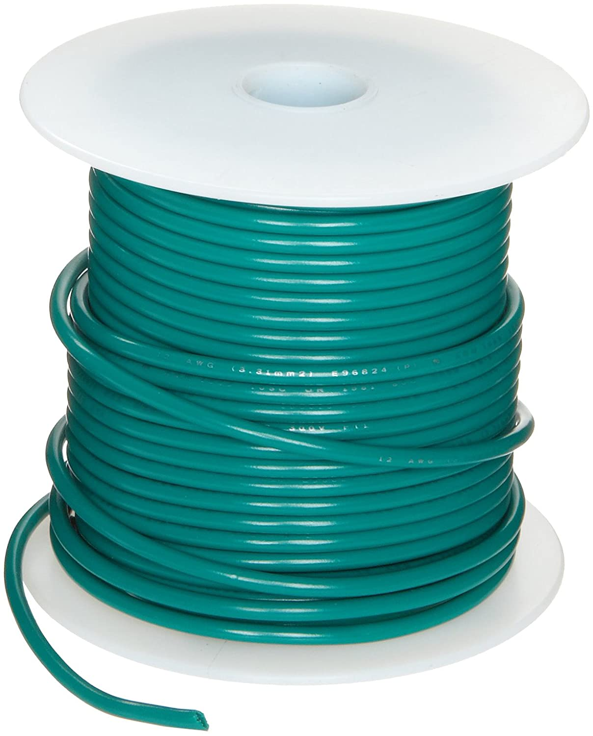 UL1007 Commercial Copper Wire, Green PVC Insulation: Electronic ...