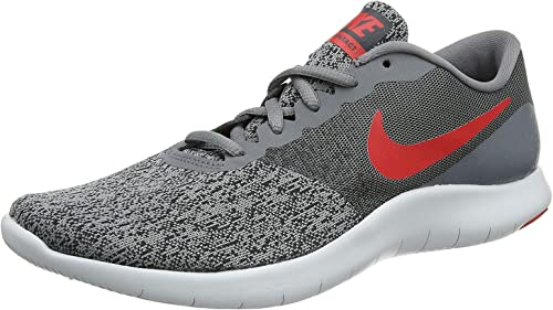Para editar colección Parpadeo  Amazon.com   Nike Men's Flex Contact Running Shoes-Cool Grey/University  Red-11   Running