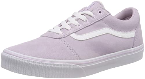 6959ab19ad4 Vans Girls  Ward Suede Low-Top Sneakers  Amazon.co.uk  Shoes   Bags