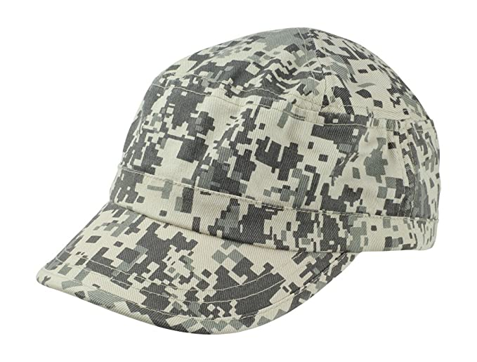 fd9734609e809 New Blank Hat Camouflage Washed Army Military Cap in Dark Green Adjustable  Plain