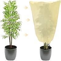 Beschermhoes, 80 x 60 cm, winterbescherming, plantenbescherming, plantenbeschermingszak met trekkoord…