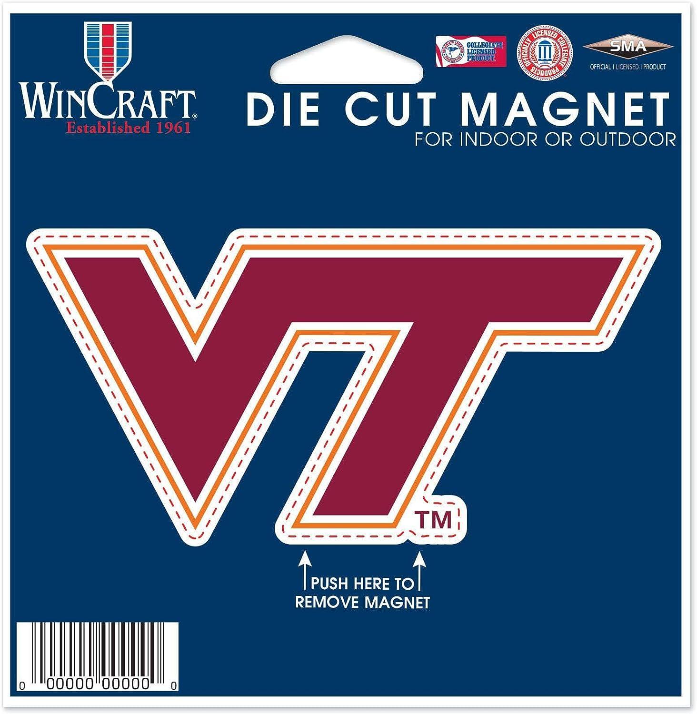 WinCraft NCAA Die Cut Magnet