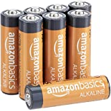 AmazonBasics AA 1.5 Volt Performance Alkaline Batteries - Pack of 8