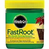 Miracle-Gro FastRoot1 Dry Powder Rooting Hormone 1.25 oz., Propagación de plantas de interior y suculentas, para plantas ornamentales de enraizamiento, follaje, tropicales y resistentes