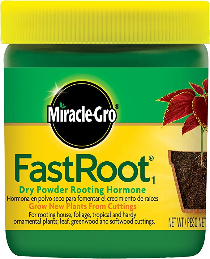 Miracle-Gro FastRoot1 Dry Powder Rooting Hormone – Best for Casual Use