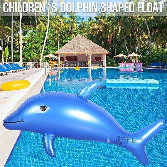 Flotador para niños para nadar, juguete infantil, delfín ...