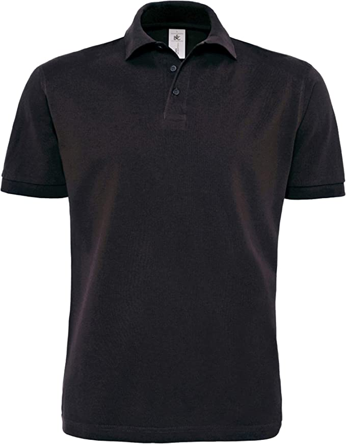 New Mens 100/% Cotton Short Sleeve Slim Fit Polo Shirts With Side Vents S~XL