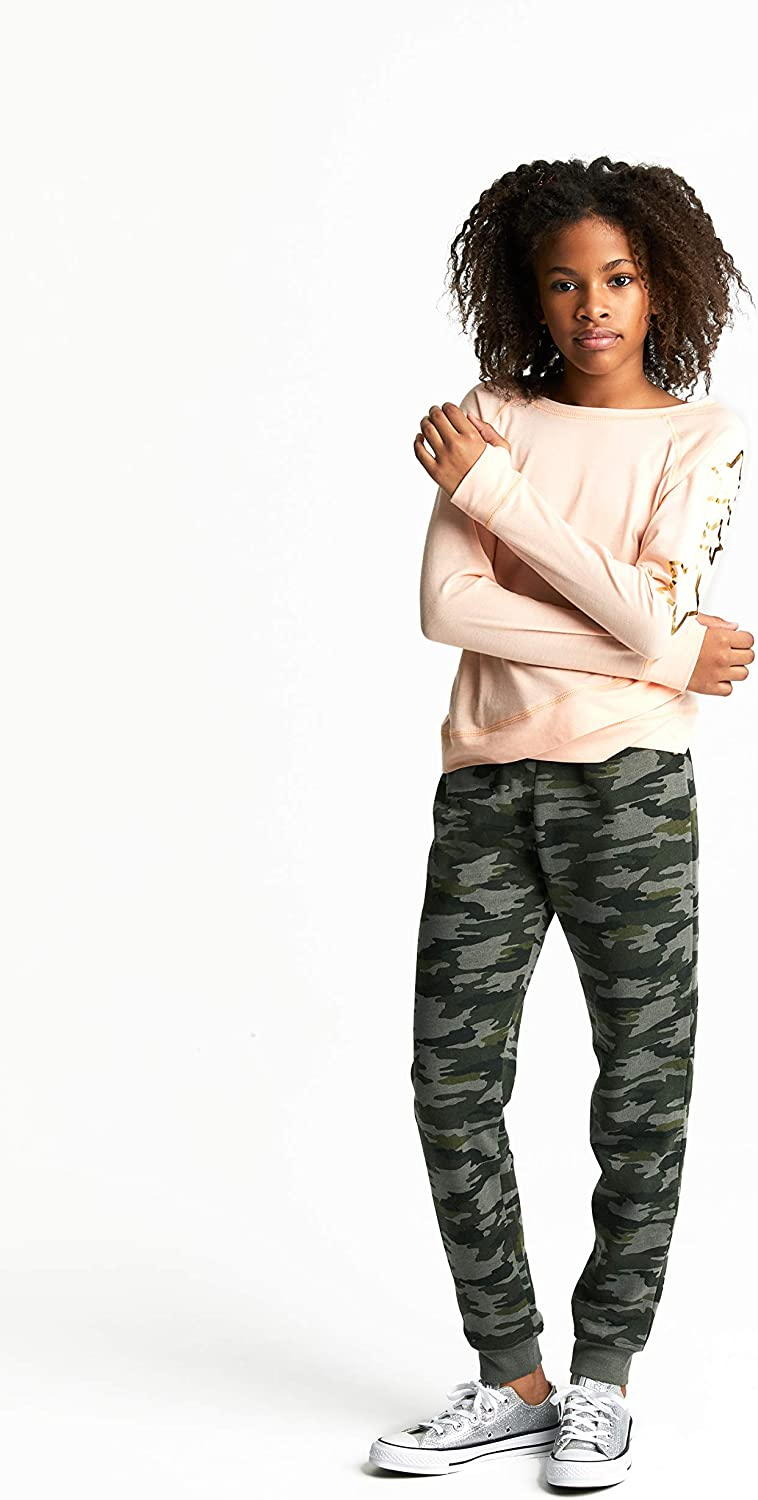 French Toast Girls Knit Jogger Pant