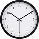 "Amazon Basics 12"" Traditional Wall Clock - Black"
