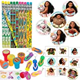 f6631a519afd94 Another Dream Tropical Sea Disney Moana Hawaiian Summer Luau Tropical  Themed Party Favor Supplies Pack Includes
