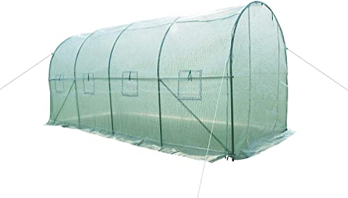 Gaier Large Walk-in Greenhouse Arch Gardening Plant Shed Garden Plant Hot House 15 X7 X7